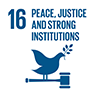 UN SDG Peace, Justice and Strong Institutions