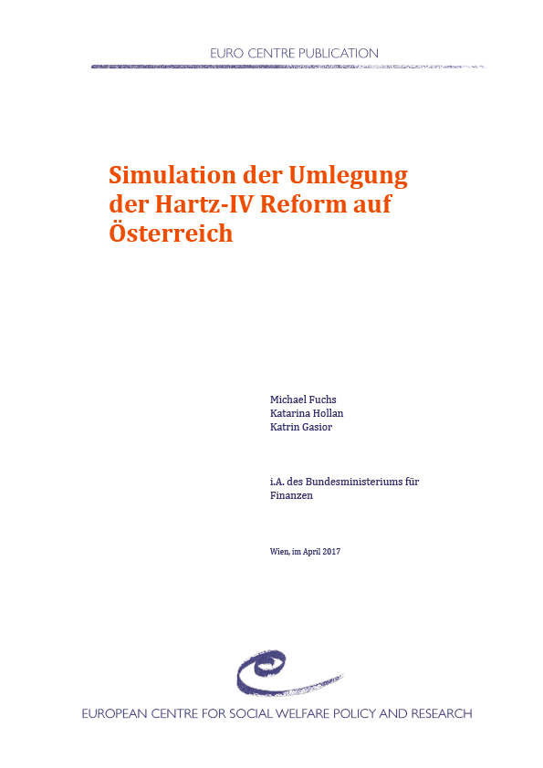 Simulation of an application of the Hartz-IV reform in